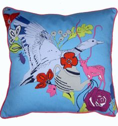 How funky is this cushion??? £49