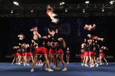 Coventry Dynamite performing at the BCA International Cheerleading Championships