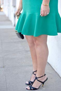 Die Länge des Kleids ist entscheidend!