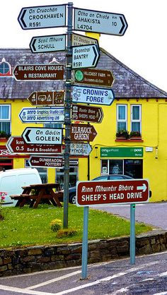 Durrus Co. Cork, go south for the mizen peninsula or north for the Sheep's head peninsula