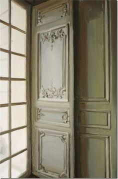 Belgian artist Jan De Vliegher - venster