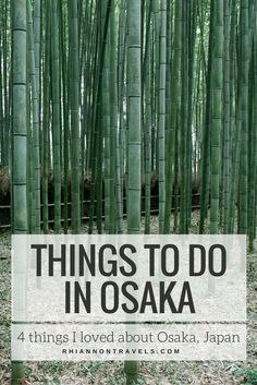 Things To Do in Osaka: 4 Things I Loved about Osaka, Japan
