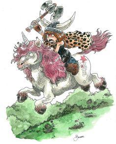 Barbarian Unicorn