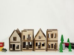 Lille city doll houses