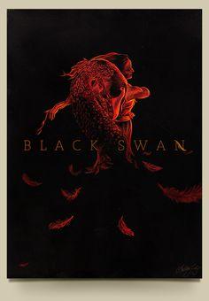 Black Swan - Poster Movie by Lukas Doraciotto, via Behance