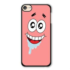 Spongebob Patrick Star Crazy Phonecase Cover Case For Apple Ipod 4 Ipod 5 Ipod 6