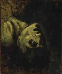 The Head of Drowned Man by Théodore Géricault (cca. 1819).