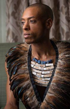 Photographer | Pam Fields Photography Model | Tai Jamaal  Jewelry | Sahgol by Elle M