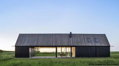 Residential Architecture, Contemporary Architecture, Villa, Cabin Design, House Design, Sweden House, Modern Barn House, House Styles, Baltic Sea