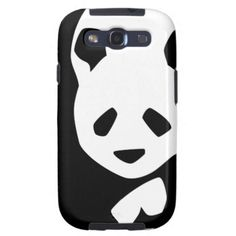 Cute Panda Bear Samsung Galaxy S3 Covers