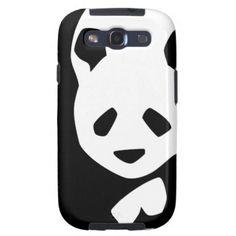 Cute Panda Bear Samsung Galaxy S3 Covers