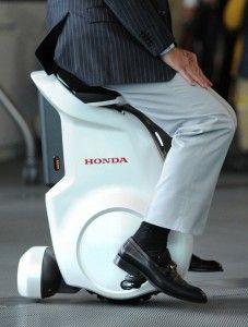 Honda Presents UNI-CUB Personal Mobility Vehicle