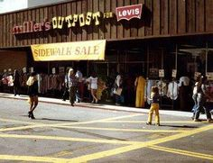 Millers Outpost..........I loved this store! Shopped there all the time!