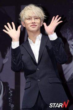 """150717 Kim Heechul Press Conference """"Devil"""""""