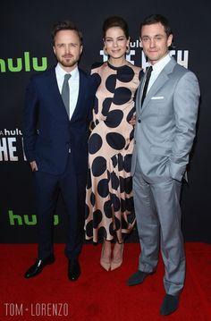 Aaron Paul, Michelle Monaghan and Hugh Dancy