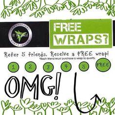 It's that easy!! FREE wraps on me :-) www.wantskinny.com