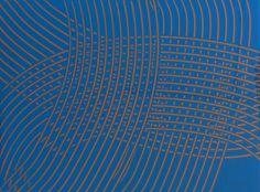 Image 4 of 6 James Boatman Blue on Gold 2011 40x30 cm