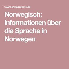 Norwegisch: Informationen über die Sprache in Norwegen