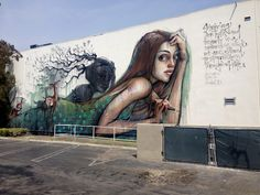 Here are our favorite pieces of street art that have popped up in Los Angeles over the last year.