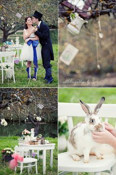 Alice in Wonderland Wedding - All the beautiful things by Zoreta