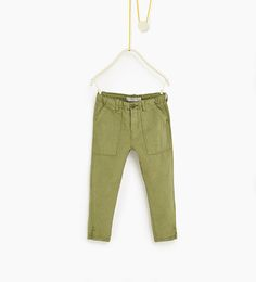 ZARA - ENFANTS - Pantalon cargo
