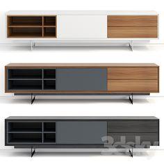 models: Sideboard Chest of drawer - Modloft Baxter Media Cabinet, tv cabinet design, Tv Unit Design, Tv Wall Design, Drawer Design, Küchen Design, Interior Design, Tv Cabinet Design Modern, Modern Tv Wall Units, Tv Unit Decor, Tv Wall Decor