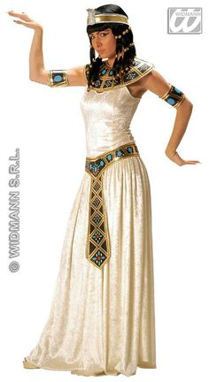 Ladies' Deluxe Egyptian Empress Cleopatra Fancy Dress Costume