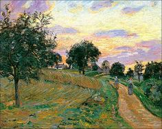 The Road of Damiette by Armand Guillaumin by BoFransson, via Flickr