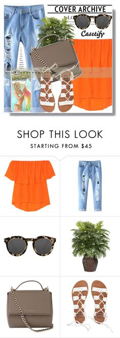 """""""Casetify!"""" by dianagrigoryan ❤ liked on Polyvore featuring Casetify, Rebecca Minkoff, Illesteva, Givenchy and Billabong"""