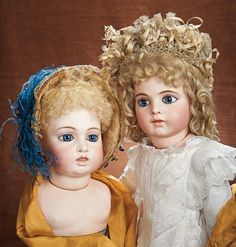 At Play in a Field of Dolls (Part 1 of 2-Vol set): 11 French Bisque Head,Splendid Eyes,Sculpted Teeth,Circle-Dot Model,Leon Casimir Bru