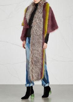 Ferry faux fur jacket