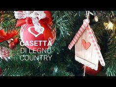 Come fare casette country in legno - Tutorial - La Figurina
