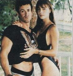 Jennifer Flavin with husband Sylvester Stallone Sistine Rose Stallone, Jennifer Flavin, Burt Young, American Gladiators, Janice Dickinson, Angie Everhart, Supportive Husband, Kathy Griffin, Three Daughters