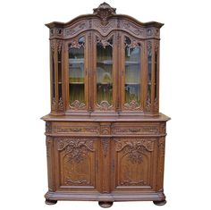 Antique China Cabinets | French Antique China Cabinets Sideboards Hutches Antique Furniture ...
