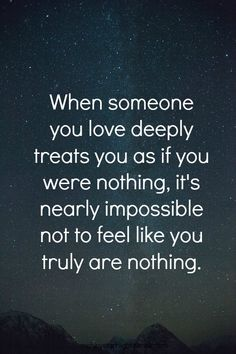 If your spouse makes you feel worthless pretty much all the time... Red Flag people! Don't make the same mistake I made.