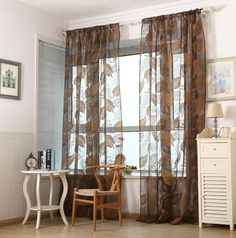 Give this a look : Super Deal  1 PC Leaf Tulle Door Window Curtain Drape Panel Sheer Scarf Valances XT http://www.thisgreatdeal.com/products/super-deal-1-pc-leaf-tulle-door-window-curtain-drape-panel-sheer-scarf-valances-xt?utm_campaign=crowdfire&utm_content=crowdfire&utm_medium=social&utm_source=pinterest