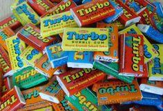 gumy do żucia lata 90-te - Szukaj w Google Bubble Gum, Retro, Pop Tarts, Childhood Memories, Teak, Snack Recipes, Bubbles, Packaging, Candy