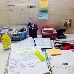 Você estuda todo dia, eu estou escrevendo no meu diário