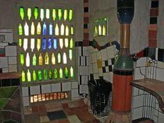 Glass and Mozaiek-Hundertwasser