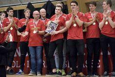 Aalborg Håndbold holdt guldfest for deres fans og sponsor. Foto Lars Pauli