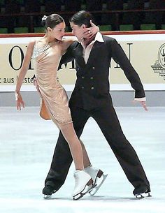 Tanja Kolbe and Sascha Rabe at the Original Dance at the German Junior Championships 2007 in Oberstdorf (Tango)