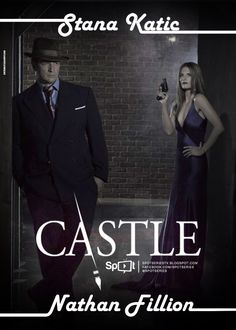 The writer The cop The love Castle Tv Series, Castle Tv Shows, Castle Abc, Richard Castle, True Blood, White Collar, Buffy, New Orleans, Castle Beckett
