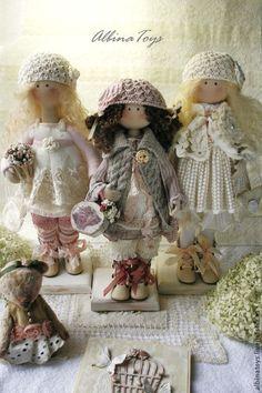 Muñecos artesanales de tela