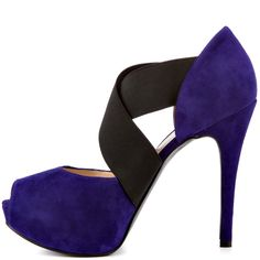 Guesss Purple Kampbell - Dark Purple Suede for 119.99 direct from heels.com