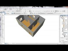 ARCHICAD 19 New Features - Using the Surface Painter Palette - YouTube