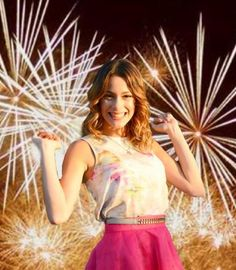 "She is Martina Stoessel, aka ""Violetta"""