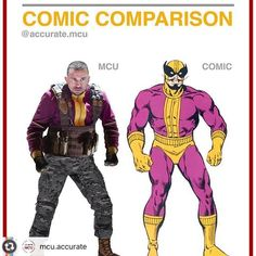 Comic Comparison Batroc