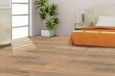 BuildDirect – Engineered Hardwood - Arizona Collection – Desert Plateau Silver - Bedroom View $3.99-$4.59/sq ft