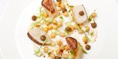 This light, summery scallops recipe from Alyn Williams carries hints of Tandoori spice