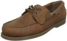 Dockers Men's Castaway Boat Shoe Dockers. $39.99. leather. Rubber sole. From the classic slotted collar to the traditional moc-stitched toe, this boat shoe offers a relaxed look for casual wear.